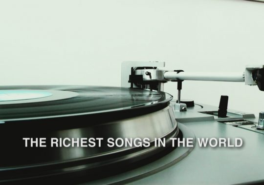 Richest Songs in the World Title